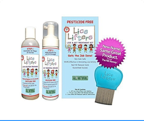 Lice Lifters Lice And Nit Treatment Kit